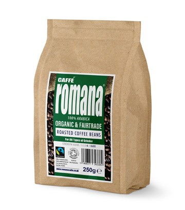 Organic and Fair Trade Roasted Coffee Beans
