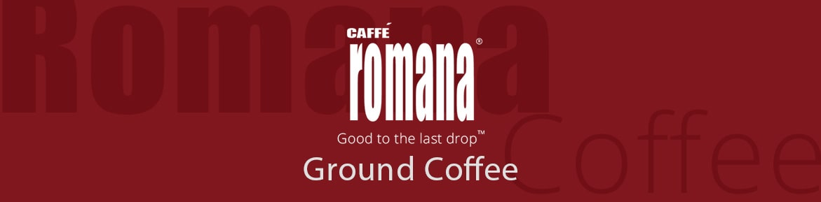 romana ground coffee