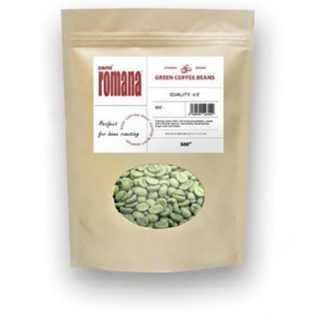 Green sidamo ethiopian beans