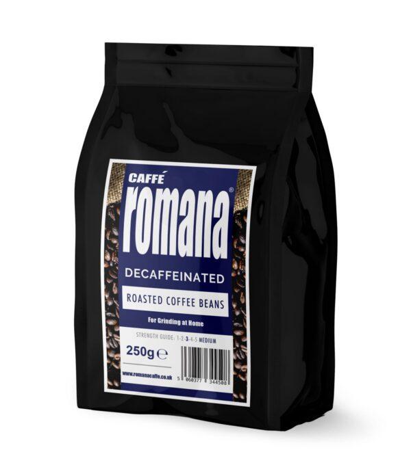 250g decaf beans £2.95