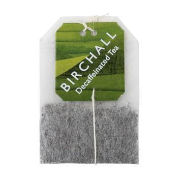 Birchall Decaffeinated Tea 25 Tagged & Enveloped Tea Bags