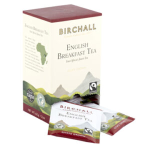 Birchall English Breakfast Tea 25 Tagged Tea & EnvelopedTea Bags