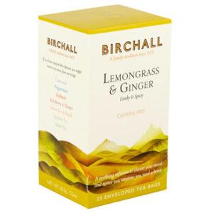 Birchall Lemongrass & Ginger 25 Tagged & Enveloped Tea Bags