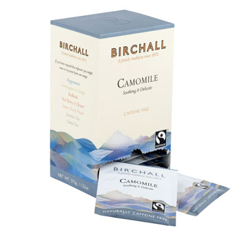 Birchall Camomile 25 Tagged & Enveloped Tea Bags