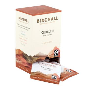 Birchall Redbush 25 Tagged & Enveloped Tea Bags