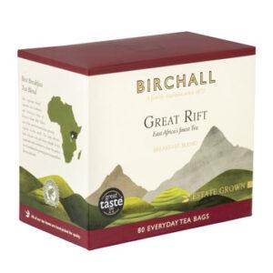 Birchall Great Rift Breakfast Blend 80 Everyday Tea Bags